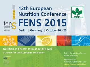 12 Conferencia Europea de Nutrición