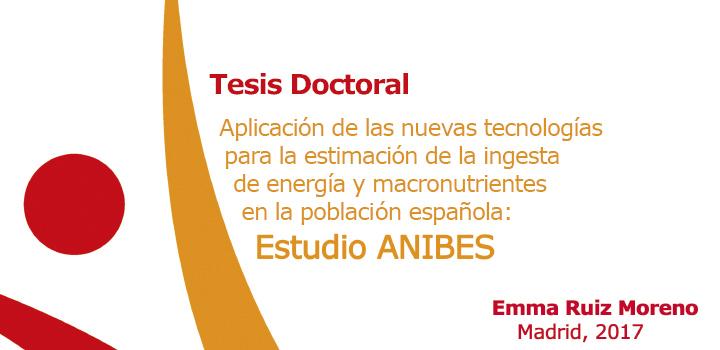 Aplicación de las nuevas tecnologías para la estimación de la ingesta de energía y macronutrientes en la población española: Estudio ANIBES