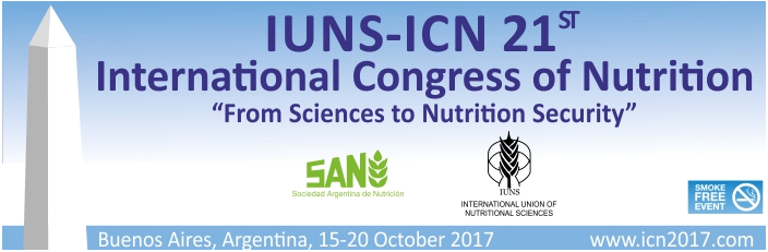 21 Congreso Internacional de Nutrición