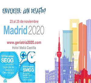 62 Congreso de la Sociedad Española de Geriatría y Gerontología