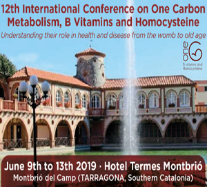 12th International conference on One carbon metabolism, B vitamins and Homocysteine