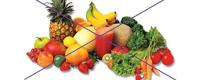 Alergia a las frutas y verduras