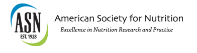 American Society for Nutritional Sciences