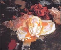 Huevos fritos con zorza