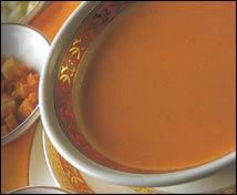Gazpacho de vinagre al jerez al estilo Zalacaín con Font d´Or