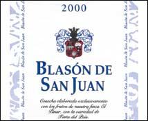 Blasón de San Juan