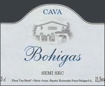 Bohigas Semi-Seco