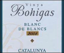 Vinya Bohigas. Blanc de blancs.