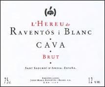 L´Hereu de Raventos i Blanc Brut