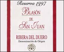 Blasón de San Juan Reserva