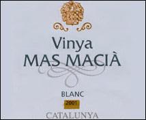 Vinya Mas Masiá Chardonnay