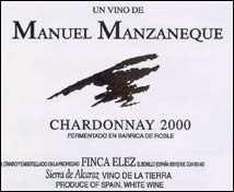 Manuel Manzaneque  Chardonnay Vendimia Tardía