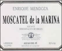Enrique Mendoza Moscatel de Marina