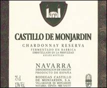 Castillo de Monjardín Chardonnay Reserva