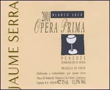 Jaume Serra Opera Prima