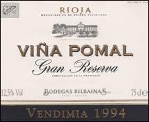 Viña Pomal Gran Reserva (1994)