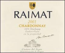 Raimat Chardonnay (2001)