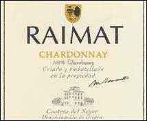 Raimat Chardonnay Selección Especial
