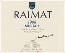 Raimat Merlot (1998)