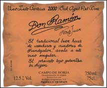 Don Ramón Crianza