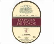 Marqués de Tosos Reserva