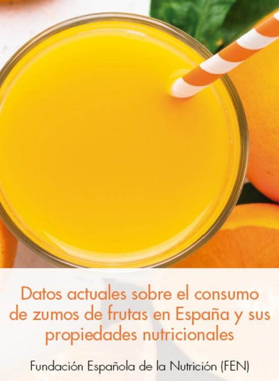 Datos actuales sobre el consumo de zumos de frutas en España y sus propiedades nutricionales