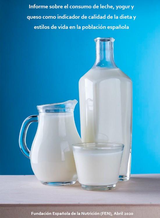 Informe sobre el consumo de leche, yogur y queso como indicador de calidad de la dieta y estilos de vida en la población española