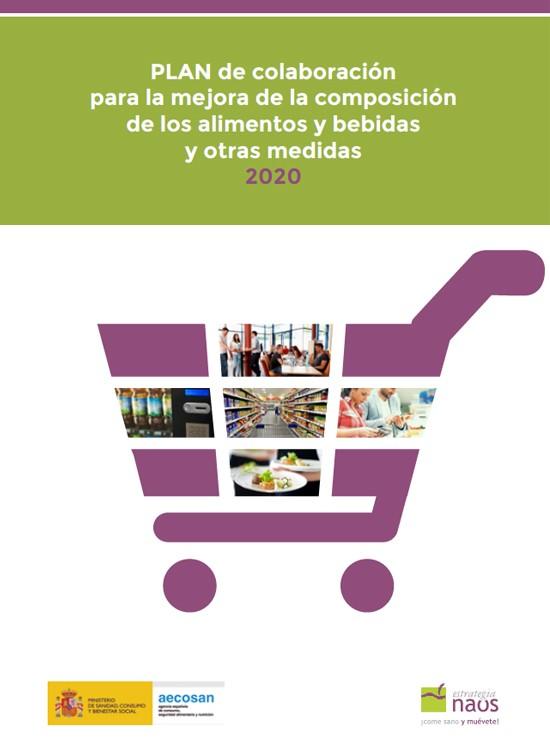 Plan de colaboración para la mejora de la composición de los alimentos y bebidas y otras medidas 2020