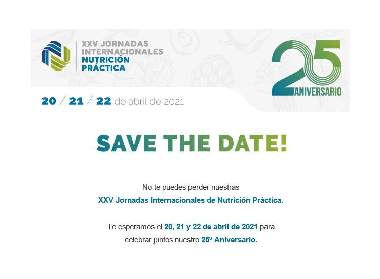 XXV Jornadas Internacionales de Nutrición Práctica