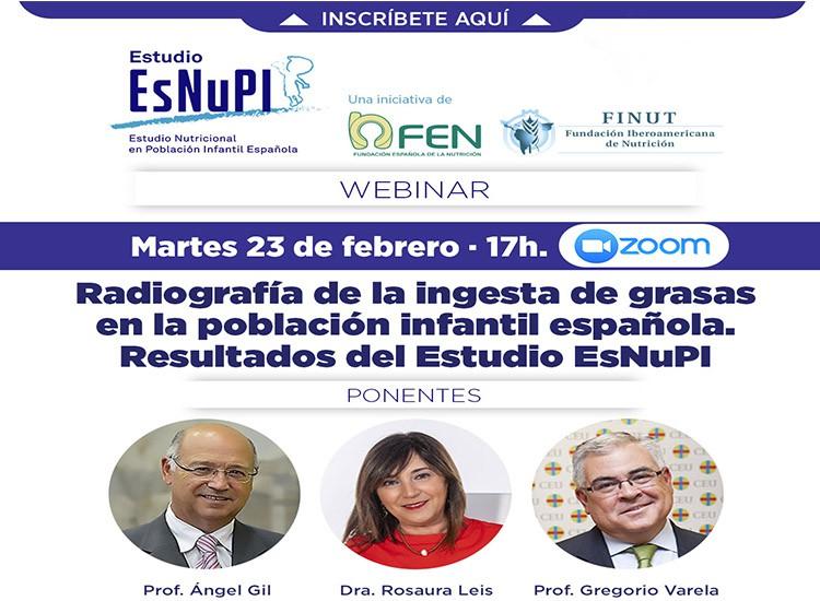 Estudio EsNuPI. Radiografía de la ingesta de grasas en la población infantil española.